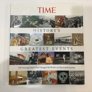 Time hardcover book 100 turning points 2010